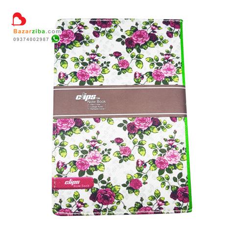 دفتر خاطرات طرح گل گلی با جلد پارچه ای برای خاطره نویسی با مشخصات و قیمت خرید مناسب هدیه و کادو