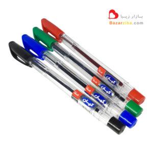 خودکار ایرانی کیان در 4 رنگ آبی مشکی قرمز و سبز خرید اینترنتی با قیمت خوب